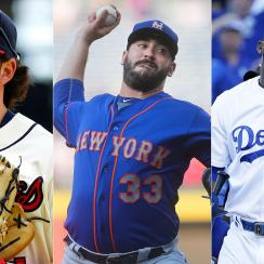 Dansby Swanson, Atlanta Braves; Matt Harvey, New York Mets; Yasiel Puig, Los Angeles Dodgers