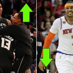 Blazers and Knicks