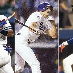 Joe Carter, Toronto Blue Jays; Kirk Gibson, Los Angeles Dodgers; Darryl Strawberry, New York Mets