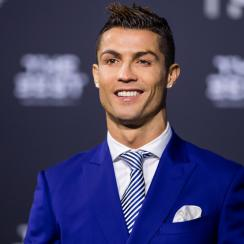 Cristiano Ronaldo wins FIFA's The Best award as male player of the year
