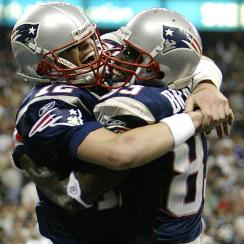 Deion Branch says he and Tom Brady were like brothers right from the start.