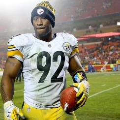 NFL playoffs: James Harrison saves the day for Steelers vs. Chiefs