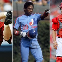 Jeff Bagwell, Houston Astros; Tim Raines, Montreal Expos; Ivan Rodriguez, Texas Rangers