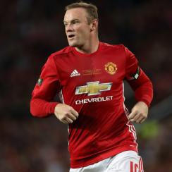 Wayne Rooney hosted a testimonial match for charity with Manchester United playing Everton