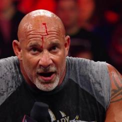 WWE Raw: Reason behind Goldberg's bloody head (video)