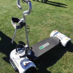 The GolfBoard brings some youthful energy to our classic game.