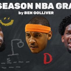 NBA Midseason Grades