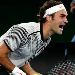 Roger Federer beat Rafael Nadal in the Australian Open final.