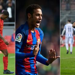Liverpool, Barcelona and Inter Milan each made headlines around Europe