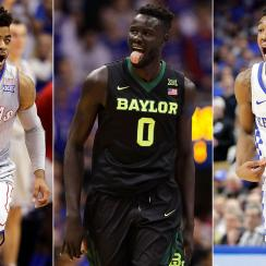 Kansas, Baylor, Kentucky