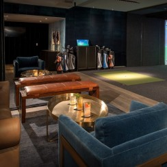 "Top Golf's new ""swing suite"" promises golf fans a place to relax and have fun."