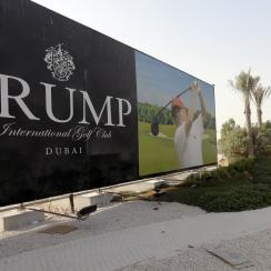 Trump International Golf Club Dubai is first of two planned Trump-branded tracks in the Middle East.