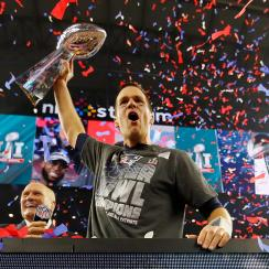 Tom Brady New England Patriots championships cleveland cavaliers chicago cubs
