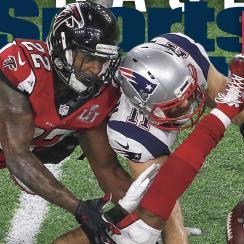 Julian Edelman Sports Illustrated Super Bowl cover