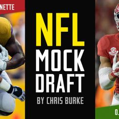 2017 NFL mock draft: Myles Garrett, Deshaun Watson, Jonathan Allen top first, second, third round picks