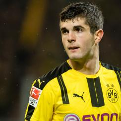 Christian Pulisic assists on a goal for Dortmund