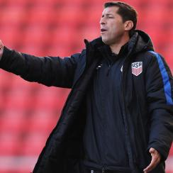 Tab Ramos guides the U.S. Under-20 national team