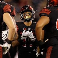 Donnel Pumphrey: NFL draft running back prospect out of SDSU