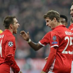 Bayern Munich destroyed Arsenal in the Champions League