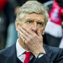 Arsene Wenger is under fire at Arsenal again