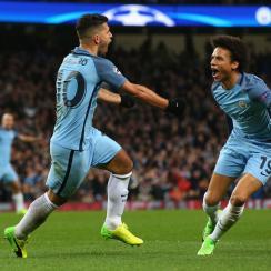 Sergio Aguero stars for Manchester City vs. Monaco