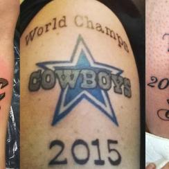 Why sports fans get premature championship tattoos