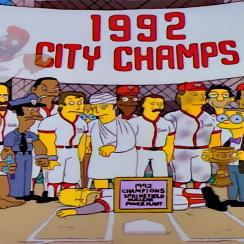 The Simpsons, Homer At The Bat
