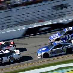 Daytona 500 crash: Dale Earnhardt Jr.