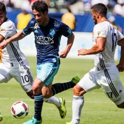 Giovani Dos Santos and Nicolas Lodeiro are two of MLS's star attractions