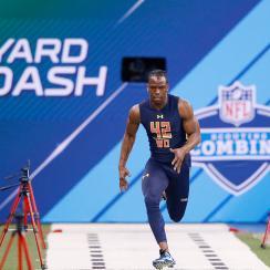 John Ross broke Chris Johnson's 40-yard dash record at the NFL combine