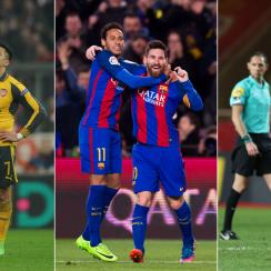Alexis Sanchez, Neymar, Lionel Messi and Kylian Mbappe were among the newsmakers around Europe this weekend