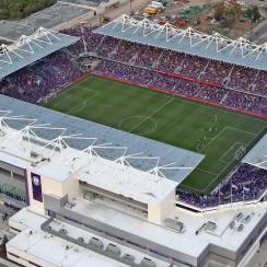 Orlando City opened its new stadium vs. NYCFC