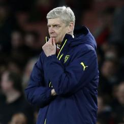 Arsene Wenger and Arsenal have crashed out of the Champions League
