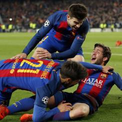 Barcelona completes the greatest comeback in Champions League history vs. PSG