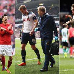 Robert Lewandowski, Sergio Ramos and Harry Kane were newsmakers over the weekend around EUrope