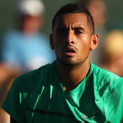 nick kyrgios indian wells highlights video