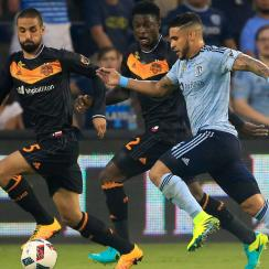 Sporting Kansas City's Dom Dwyer has become a U.S. citizen