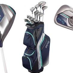 The full Ping G Le line includes a driver, woods, hybrids, irons and putters.