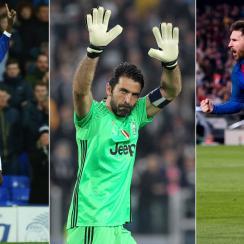 Romelu Lukaku, Gianluigi Buffon and Lionel Messi starred over the weekend
