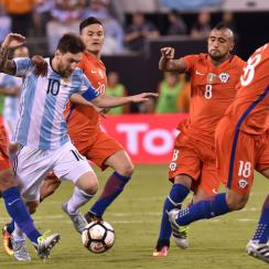 Messi and Argentina will face Chile in World Cup qualifying
