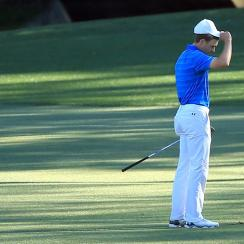 At the 2016 Masters, Jordan Spieth went from leader to lost in minutes.