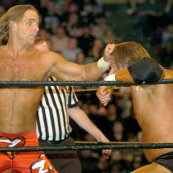 Shawn Michaels-AJ Styles WrestleMania match rejected by HBK