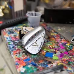 Michelle Wie's new wedges have a magical feel.