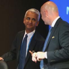 Sunil Gulati and US Soccer could be bidding for World Cup 2026