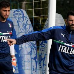 Between Gianluigi Donnarumma and Gianluigi Buffon, Italy is set at goalkeeper