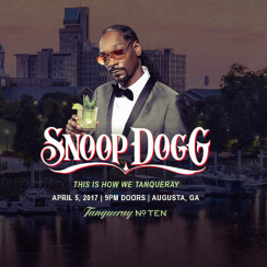 Snoop Dogg will be live from Augusta next week at the Masters.