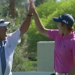 Eun Jeong Seong hit a hole-in-one at the ANA Inspiration Thursday, becoming the first amateur to make an ace in the major tournament's history.