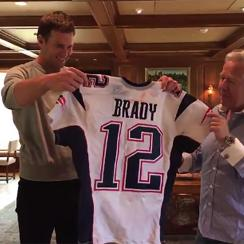 tom brady receives missing super bowl jersey
