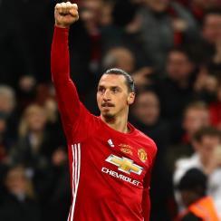 Zlatan Ibrahimovic has enjoyed a successful first season at Manchester United