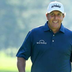 Phil Mickelson is looking for green jacket No. 4 this week.